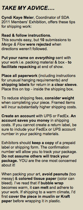 Where Can I Buy A Receipt Book Excel Hot Tips On Shipping Your Artwork  Surface Design Association  Dot Net Invoice Word with Office Depot Return Policy No Receipt Pdf Advice  Based On Past Experience  On Shipping From Coordinator Of Sda  Members Exhibition Fillable Canada Customs Invoice Word