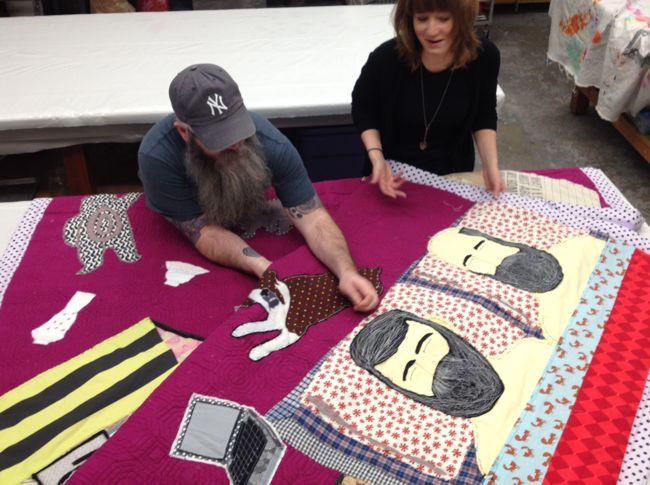 Jones SEFEA Mark Errol critique GSU Textiles
