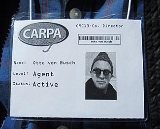 5. McDade_Camp CARPA badge for Director Otto von Busch_05