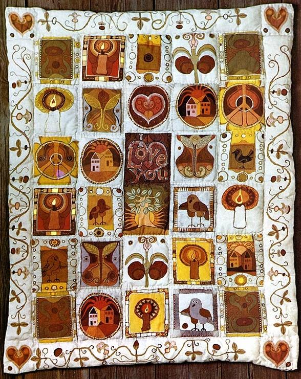 Blumrich batik quilt 4