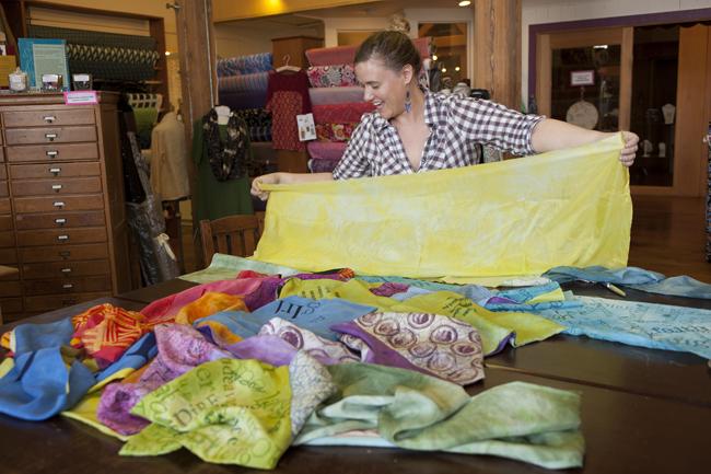 Gignoux WRAP scarves girl 13