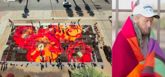 Ann Morton Ground Cloth composite video capture and recipient