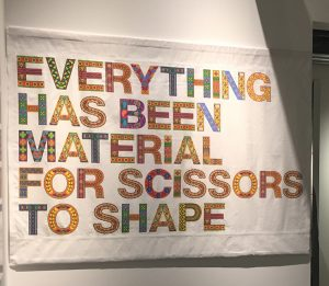 Everything has been material for scissors to shape - banner by Shantanu Suman