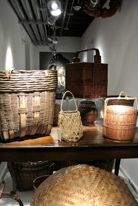Baskets from The Wing Luke's collection