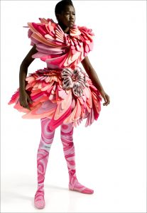 Marga Weimans dress from the Wonderland collection