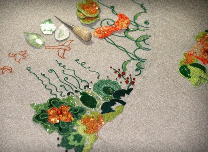 Losing It Literally Over Embroidery The Teeny Tiny Pieces Of
