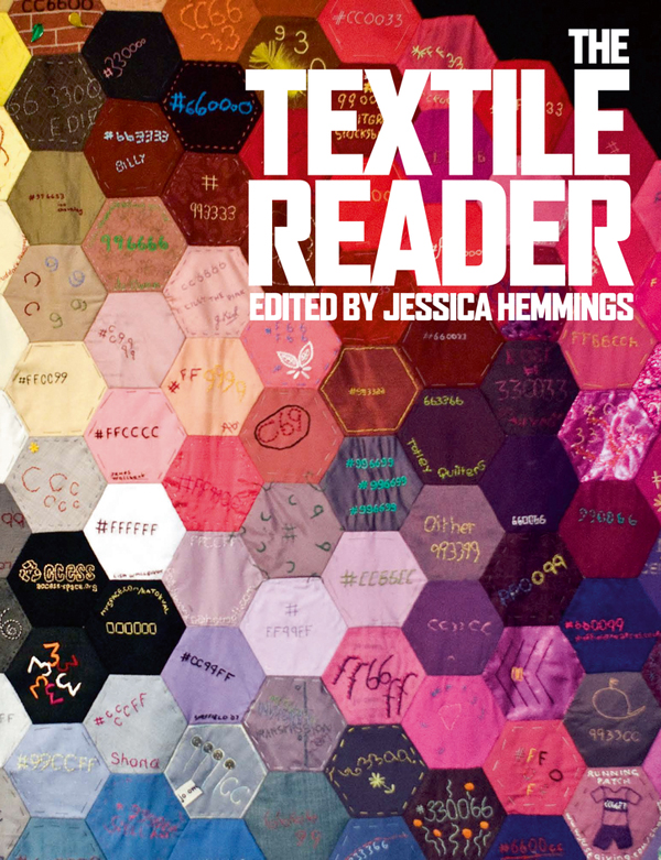 2013 Book list The Textile Reader Cover