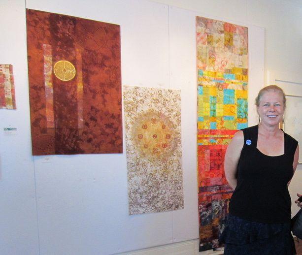 Jane Dunnewold interface textile tour