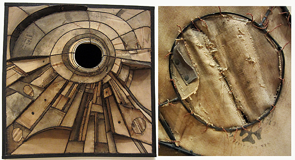 McDade_CAA_AIC Opening reception_Lee Bontecou Untitled 1960_with detail_03