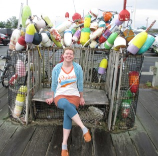 24. McDade_Marci at the Provincetown dock_24