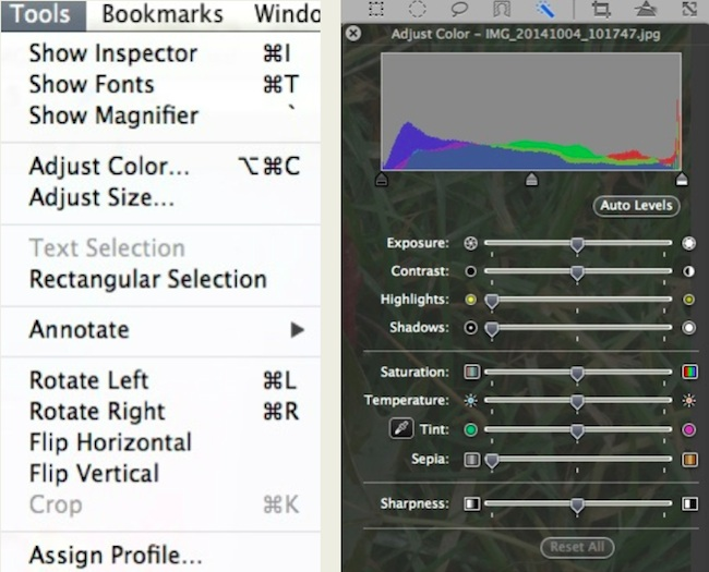 Bruning Preview Tool Screen Shots