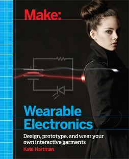 Make-Wearable Electronics Hartman amazon