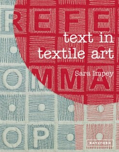 text in textile art amazon lg