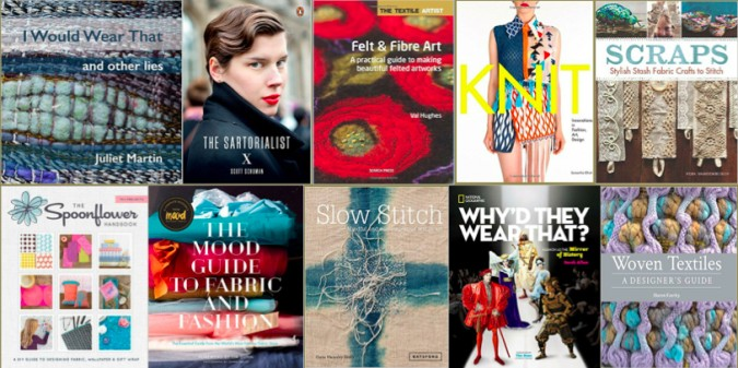 2015 Textile Books for NewsBlog