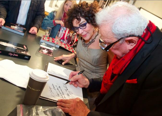 IAC Ron Galella book signing 2015
