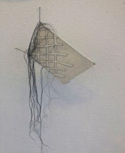 <strong>Lisa Klakulak <em>Encased and Stitched Panel</em></strong> (2016)