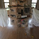 Mary McFerran Wolves, Brides, and Fairytales (2016) Overview of installation
