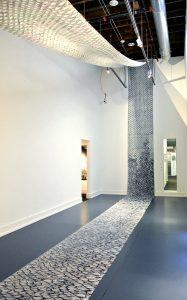 Surabhi Ghosh architectural installation, A Hair's Breath, The Unfurled Sea