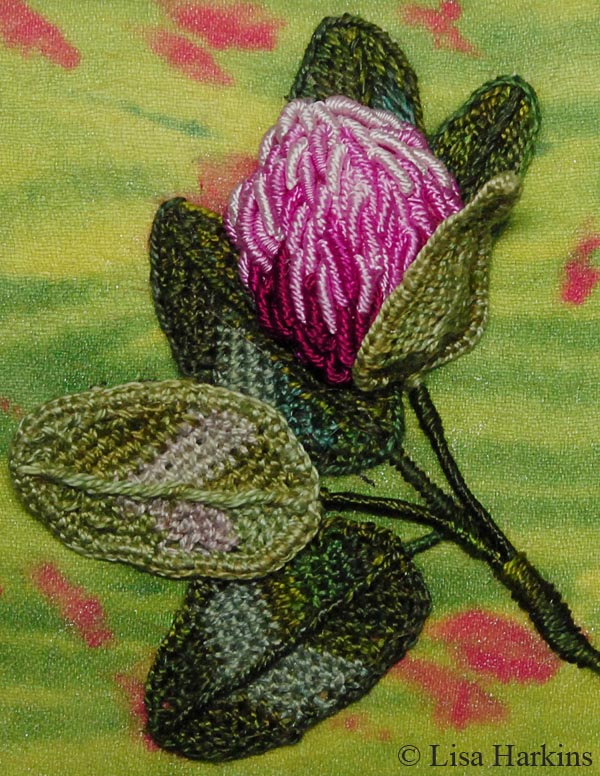 Stumpwork Embroidery With Lisa Harkins Surface Design Association