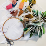 Empowering with Embroidery: Embroidered Sew-on Patches workshop with Andrea Vail