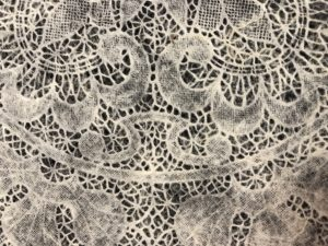 Pattern Print Lace