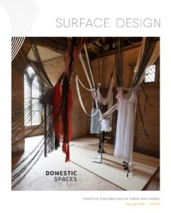 Spring 2019 Cover of Domestic Spaces