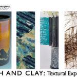 Cloth and Clay: Textural Explorations