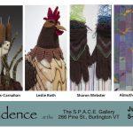 Cadence: four artists present mixed media fiberart