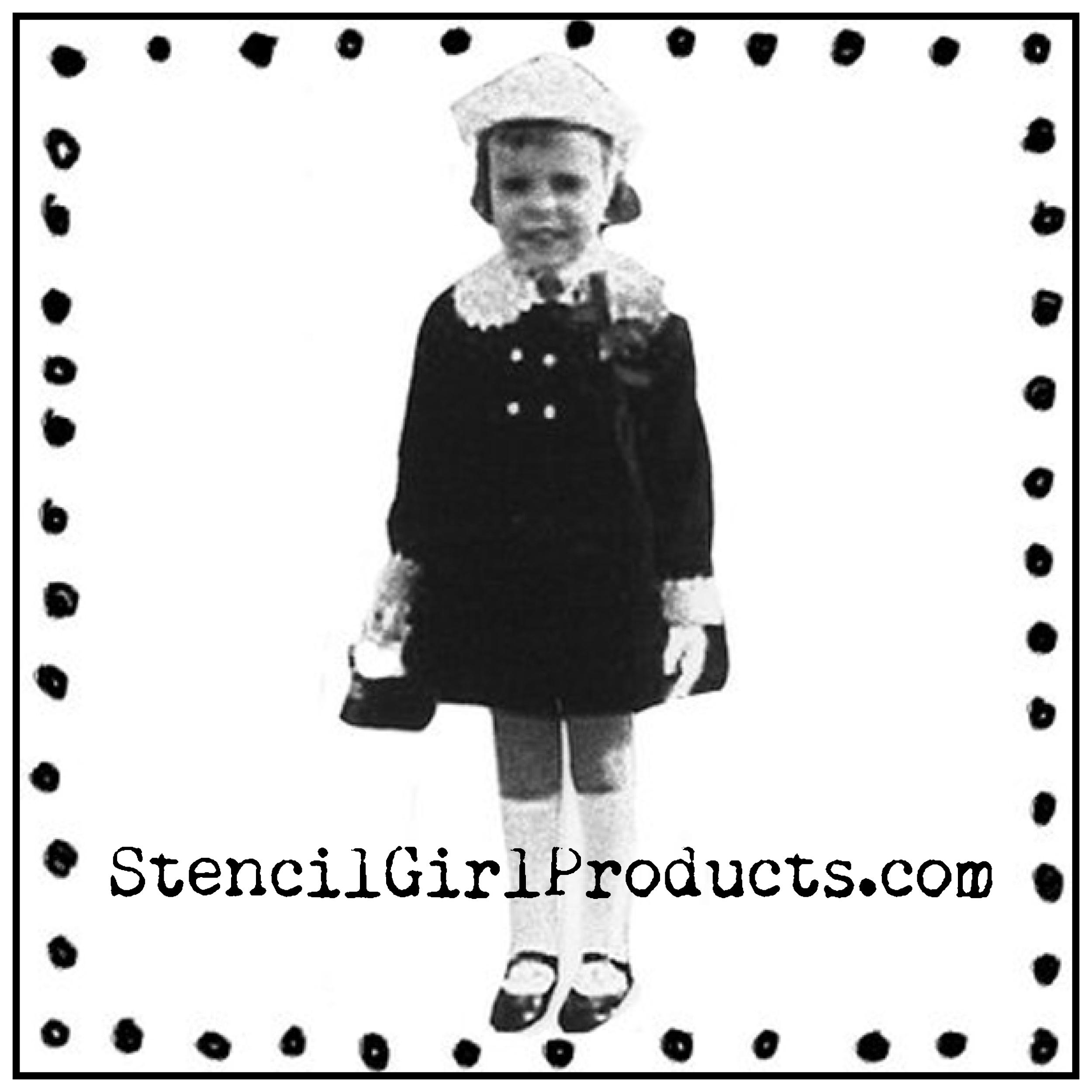Stencil Girl Logo