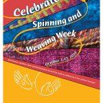 Spinning and Weaving Week Basket Weaving Demos