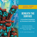 Beneath the Surface – A Coral Reef Installation