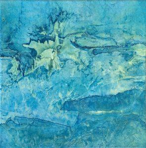 "Alison Muir, ""Reef 2,"" paper, ""10"" x 10"" x 1.25,"" 2019, website: www.muirandmuir.com.au"