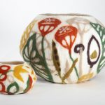 Botanical Vessels: Felting with Pre-Felts