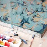 Marbling Retreat: Suminagashi, Paper, and Fabric Printing with Natalie Stopka