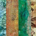 Online Mixed Media Textiles & Acrylic