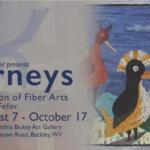 Journeys an exhibition of fiber art by Susan L Feller