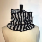 Making a Nunofelted Striped Cowl Virtual Workshop