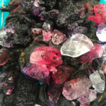 Ice Dyeing on Silk Organza with Fiber Reactive Dyes Demonstration