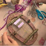 Zero Waste & Tapestry Weaving on a Clay Loom