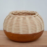 Basketry into Woodturning Workshop with Janine Wang