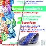 Beyond Boundaries, SDA EU+ UK Members' Exhibition, Baarle Nassau, NL
