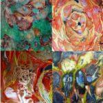Mixed Media Paint Pours Online Workshop