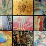 Encaustic & Resin Effects using Acrylic