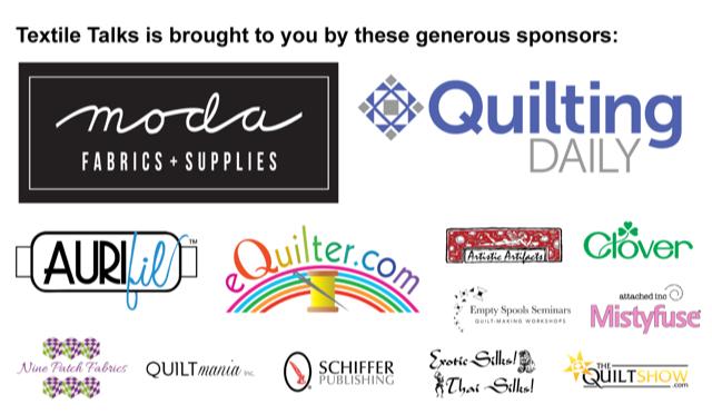 Textile Talk Sponsors